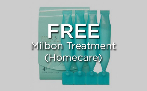 KANSHA: FREE Milbon Treatment (Homecare)