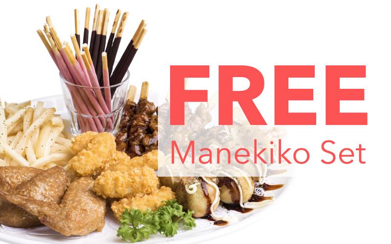 MANEKINEKO: Free Manekineko Set