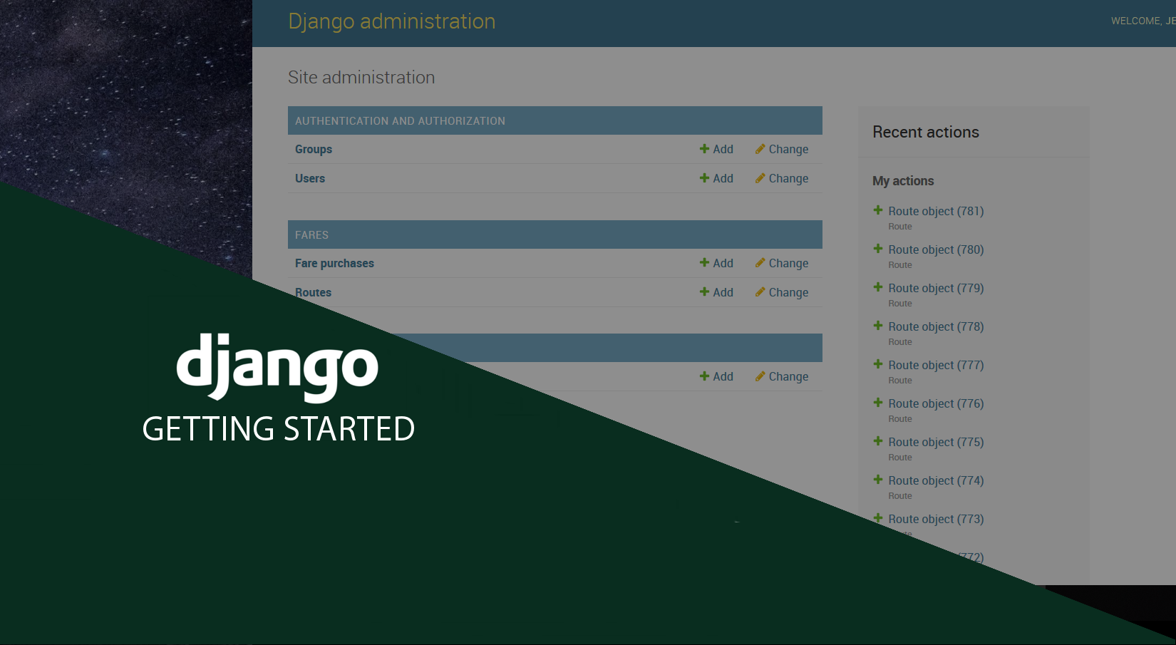 Getting Started with Django - Set Up Your Project - Jeffrey Teruel
