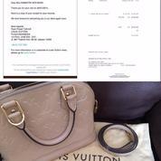 a2fb74b571f2 LV Louis Vuitton Alma Original Tas Wanita Handbag Shoulder Bag Asli