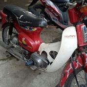 Honda C70 Tahu 1977 Warna Merah Magelang Jualo