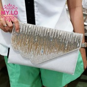 TAS CLUTCH PESTA PARTY BAG DOMPET WEDDING WANITA IMPORT MYLO MC1115 e62fa3f590