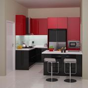 Kitchen Set Bawah Cor Untuk Perumahan Furniture Semarang Semarang