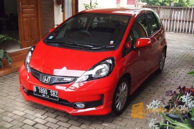 Honda Jazz Rs 2013 At Warna Merah Metalik