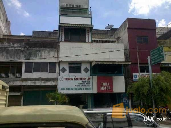 ruko 5 lantai di pusat kota palembang