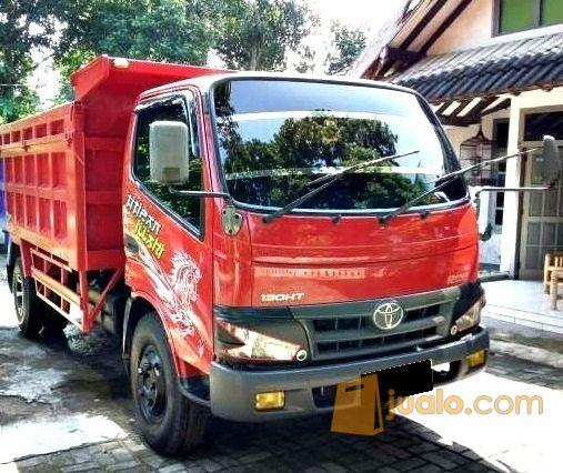 mobil toyota dyna 130ht dump truk thn 2013
