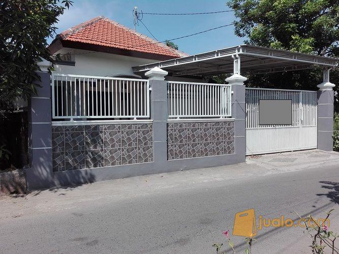 rumah mewah dekat jalan siap huni di kampung sarirogo sidoarjo