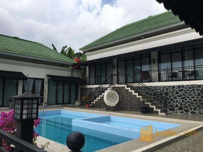 villa furnished tanah luas di gadog, megamendung, kab. bogor