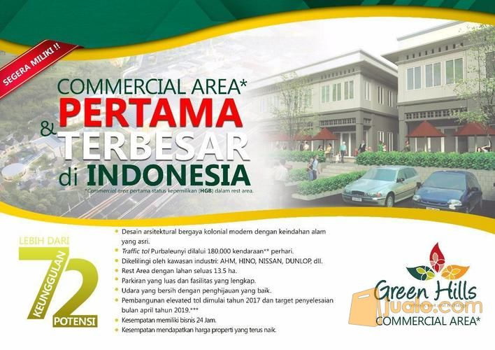 commercial area - rest area km 72a