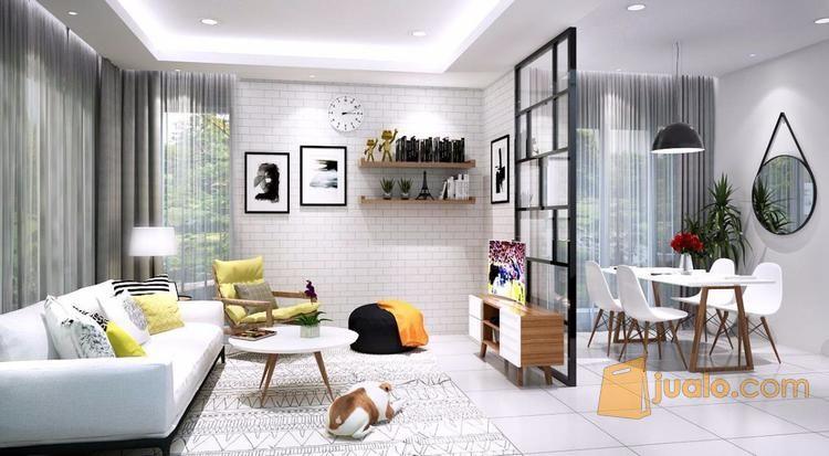 interior mewah dan elegan di villa margaretta bandung