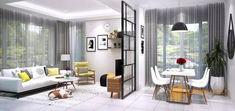 villa mewah dg interior dan ornamen elegan