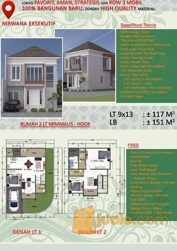 Dijual Rumah Hook Rungkut Surabaya Timur Waa2