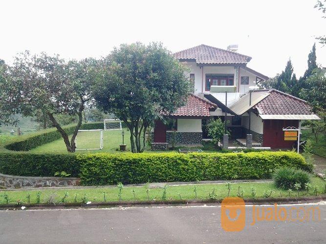 villa 4 kamar tidur, murah, gerbang pinggir jalan raya, view gunung, ciater