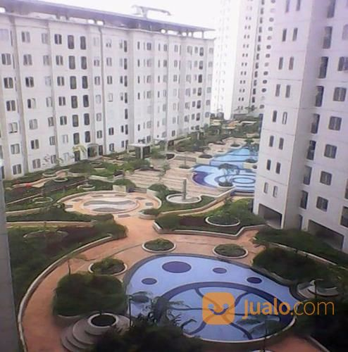 bassura city 2 br unit diatas mall view kolam