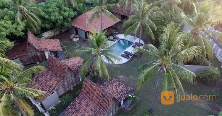 6 unit villa lokasi strategis di gili trawangan