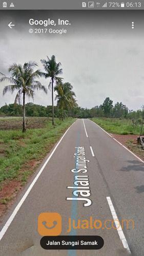 tanah 7 hektar shm di jalan petikan,badau-belitung kab