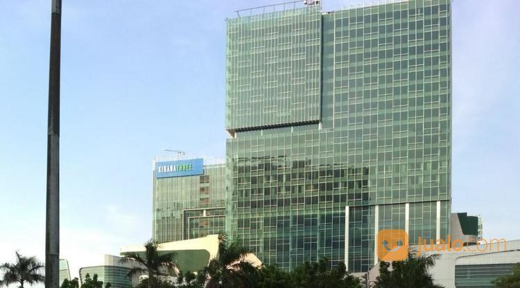 office space at kirana three gedung baru ada luasan 1 lantai