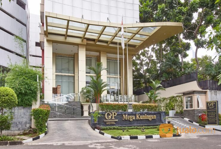 hotel gp mega kuningan, lokasi di pusat bisnis jakarta selatan