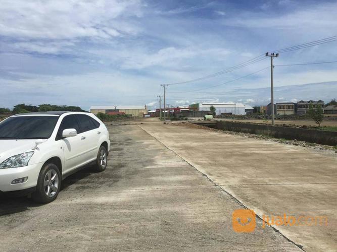 gudang 3km dari airport, toll, pelabuhan ktn baru di raya patene makassar