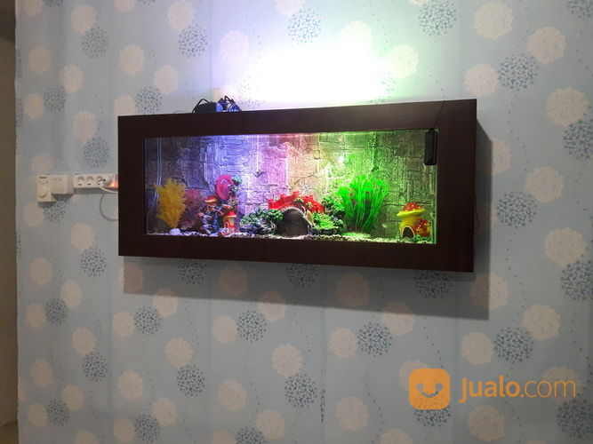 aquarium dinding malang tanpa kuras