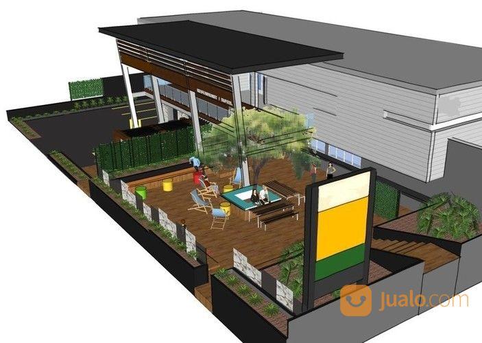 kantor rumah dan 12 kosan pinggir jalan raya purwakarta 1700 m2