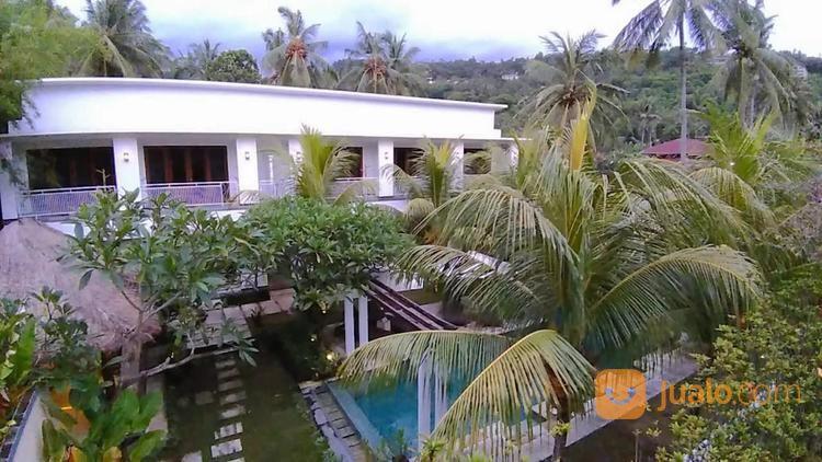 villa 14 kamar 750m2 - batu layar senggigi, lombok barat, nusa tenggara barat