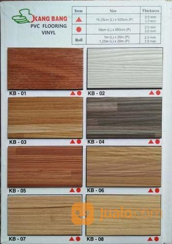 vinyl lantai plank 2mm motif kayu