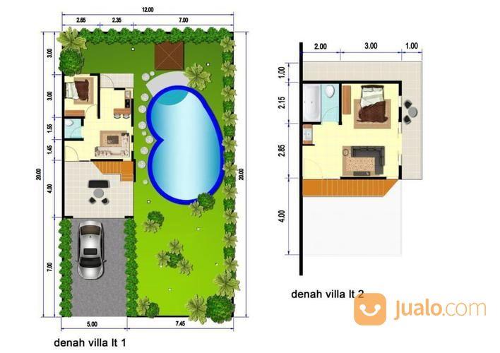 beli rumah dapat bonus 1 kolam renang pribadi