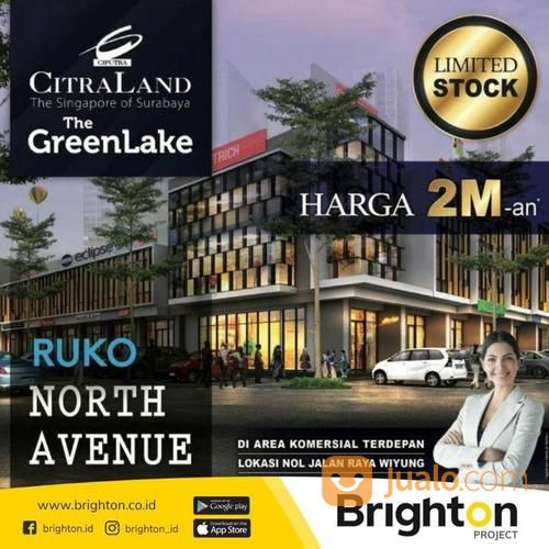 ruko north avenue citraland the greenlake surabaya