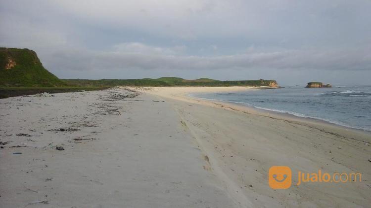 tanah lokasi strategis pinggir pantai 2,6 ha pantai kura kura lombok