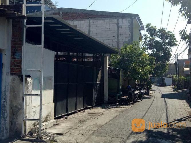 gudang rumah ex. pabrik lokasi strategis pusat kota di jalan gading