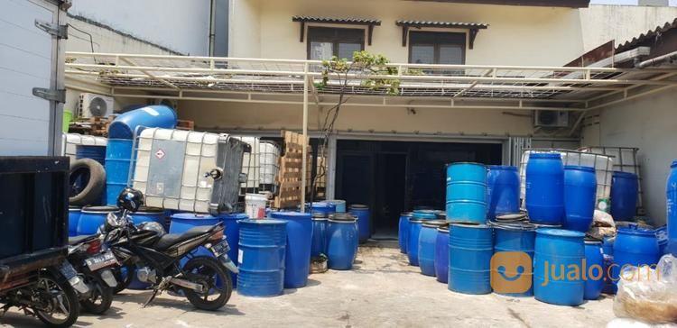 gudang dan kantor siap pakai di kavling industri taman holis