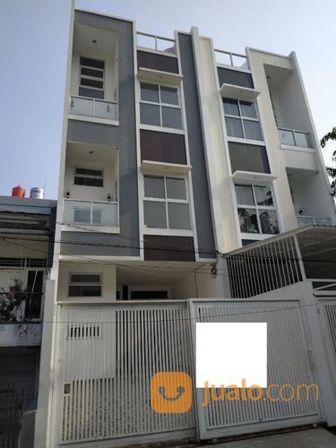 rumah baru kompleks greenville 5.5x20 lb 308 m2 belakang jakarta buah y829
