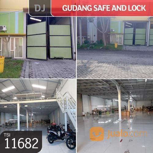 gudang safe and lock, sidoarjo, jawa timur, 12x38m, 2 lt, shm.