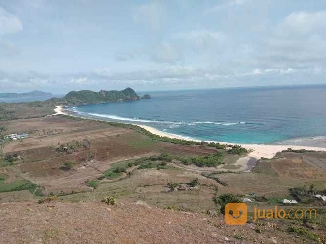 tanah pinggir pantai pengantap lombok view menawan