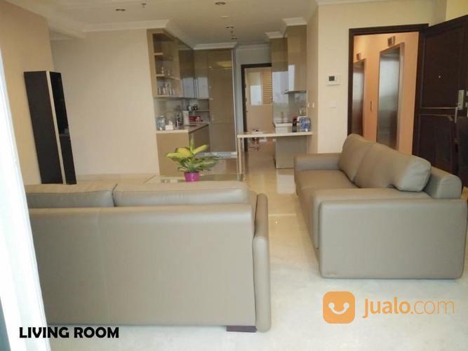 54d8c7 apartemen pondok indah residences jakarta selatan - 3 br 148m2 semi-furnished