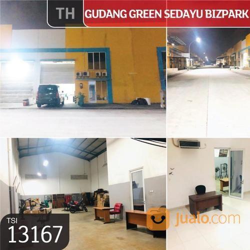 gudang green sedayu bizpark, jakarta timur, 12x36m, 2 lt, hgb