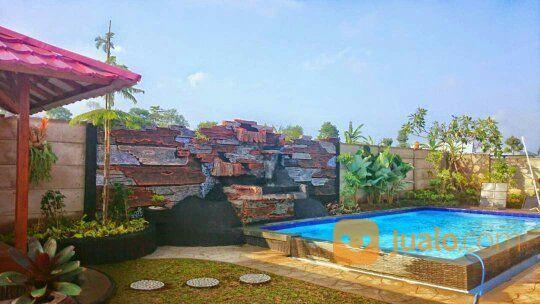 villa di cisarua dekat taman safari indonesia tanah luas