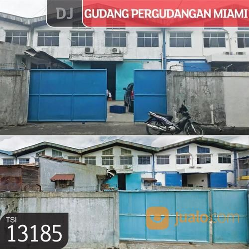 gudang pergudangan miami, jakarta barat, 12x37m, 1 lt, shm