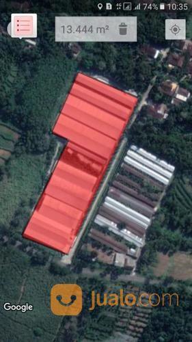 gudang sangat murah dikaranganyar , jawa tengah 16.000 meter , zona industri