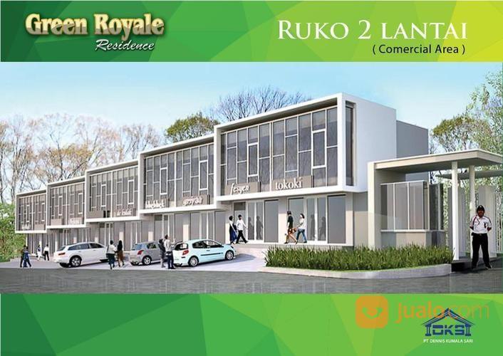 ruko baru 2 lantai di cluster mewah, green royale residence, tambun