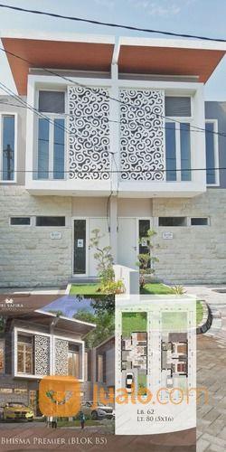 rumah impian paling ciamik barat surabaya dua lantai
