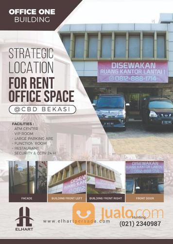 ruang kantor office one lot 1a