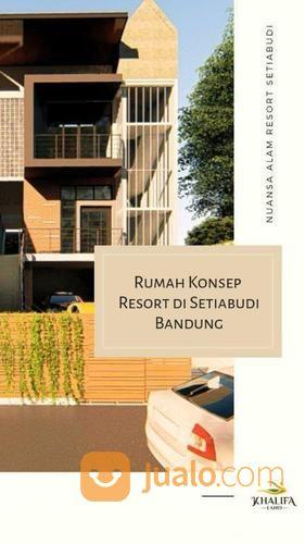 villa nuansa alam di setiabudi, lokasi strategis, cocok untuk investasi