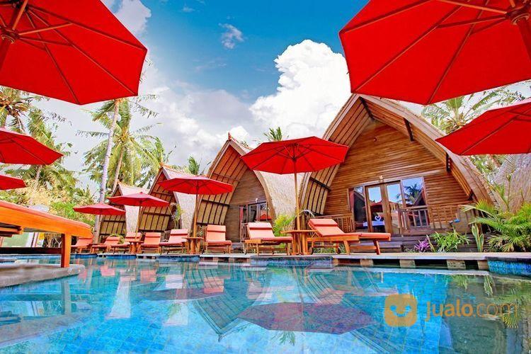 resort villa bintang 3 gili trawangan - lombok