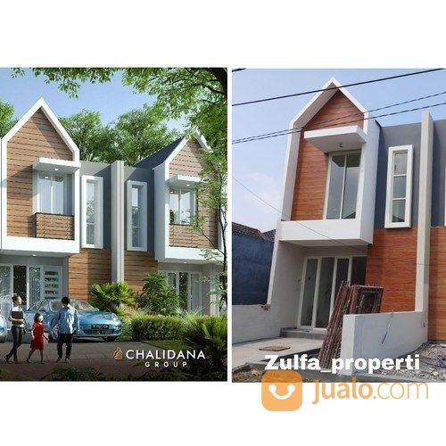 rumah cluster baru dua lantai harga terjangkau dp diangsur panjang