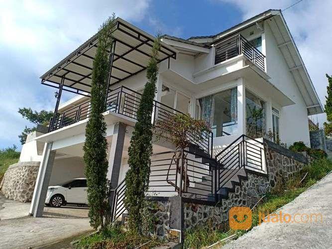 villa mewah murah di desa wisata kemuning, ngargoyoso, karanganyar
