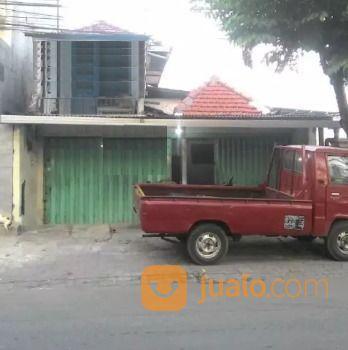 rumah toko di dekat jalan raya, tengah kota surabaya strategis, 0 jalan