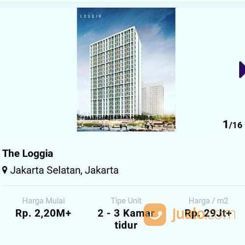 the loggia jakarta selatan apartement