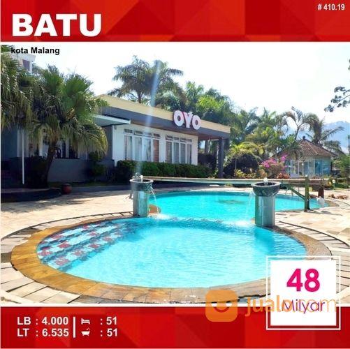 villa resort luas 6.535 di songgoriti kota batu malang 410.19